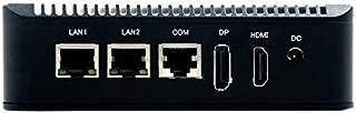Salt Gems eMini Micro Firewall Appliance, AES-NI Supported CPU, 2x Intel Gigabit LAN Ports, 16 Gb Msata SSD, 4Gb RAM, OPNSense Preinstalled, Free VPN Server, No License