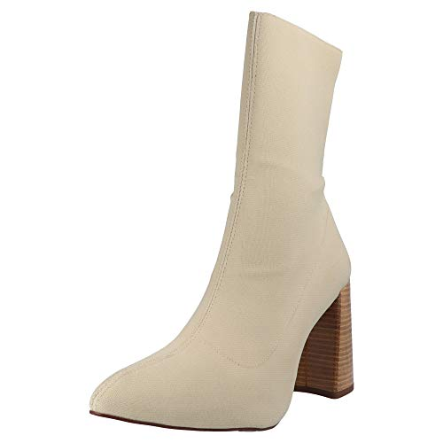 Topshop Hollywood Sock BT Damen Stiefel Taupe, Größe:42 EU