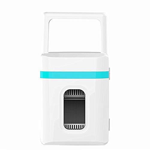 Sunfauo Refrigerador De Coche Casa De Coche Coche De Doble Propósito Camión Dormitorio Refrigeración Refrigeración Calefacción Refrigeración Sosteniendo Nevera De Coche Nevera Portátil Blue
