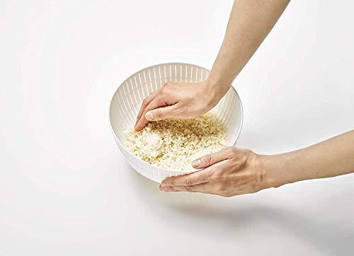 ライクイット『米とぎにも使えるザルとボウル』