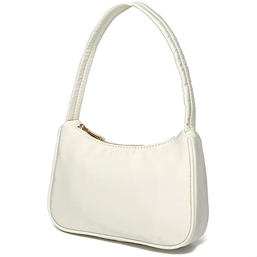 mini bags Small Nylon Shoulder Bags for Women Elegant Feminine Mini Handbags with Zipper Closure