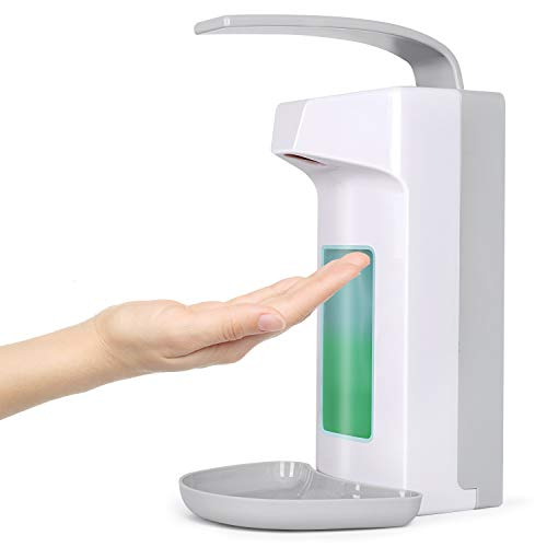 1000ml WandSpender Eurospender Seifenspender Wandmontage Desinfektionsmittelspender Handseifenspender Armhebelspender…