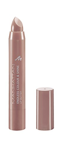 Manhattan Endless Colour & Shine Lip Butter – Lippenstift mit langanhaltendem Farbglanz in Rosa – Farbe Taupe Of My List 300 – 1 x 3g