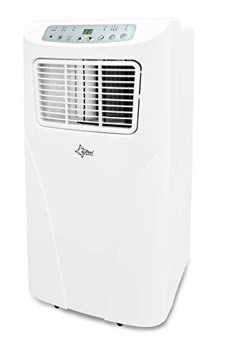 SUNTEC Climatiseur Local Mobile RAPIDO 9.0 Eco R290 [3 en 1: pour Les pièces de Moins de 80 M³ (~34 m²)*, Refroidissement, Déshumidification et Ventilation, 9.000 BTU/h, Eek A]