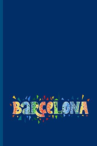 Barcelona: Carnet cadeau original et personnalisé, cahier parfait pour prise de notes,...