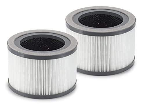 Supremery 2 filtros de repuesto para purificador de aire LEVOIT Vista 200, filtro HEPA y filtro de carbón activo, compatible con LEVOIT Vista 200-RF