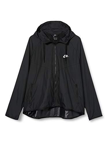Nike Damen Sportswear Windrunner Jacke, Black/Black/White, S