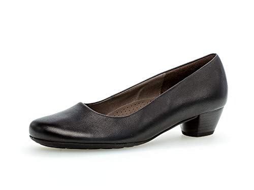 Gabor Damen Pumps, Frauen,Comfort-Mehrweite, Damen Frauen weibliche Lady Ladies feminin elegant Women's Women Woman,schwarz,37.5 EU / 4.5 UK