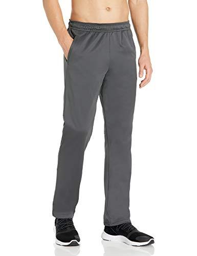Peak Velocity Men's Quantum Fleece 'Build Your Own' Sweatpant, Jogger (Loose, Athletic, Inseams), Asphalt Grey, Medium