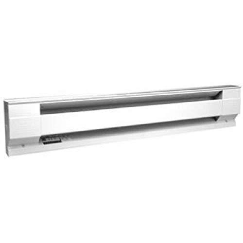 Cadet Manufacturing White 05534 120-Volt Baseboard Hardwire Electric Zone Heater, 1000-Watt, 8.33-Amp, 48-Inch, 1000 W