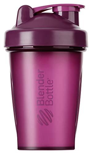 BlenderBottle Classic Shaker cup / Diet Shaker / Protein Shaker with Blenderball / 590ml - plum