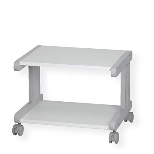 ROLINE Druckertisch, Metall, grau, 51 x 44 x 38 cm