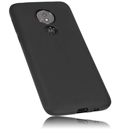 mumbi Hülle kompatibel mit Motorola Moto G7 Power Handy Hülle Handyhülle, schwarz