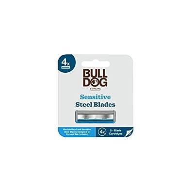 Bulldog Skincare Sensitive Bamboo Razor Blades x4