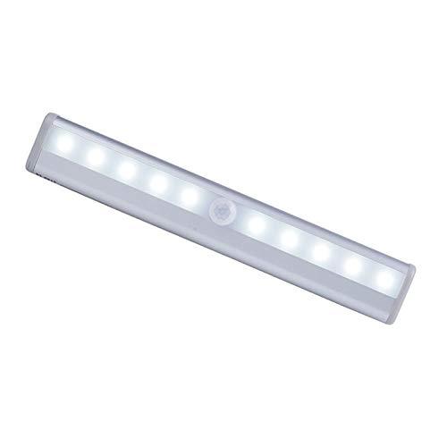 Luz de noche led luces de gabinete con recargable y sensor de movimiento para escaleras, pasillo, cocina, dormitorio