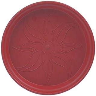طبق اصيص زرع دائري بلاستيك من مينترا - 17 سم، بطيخي