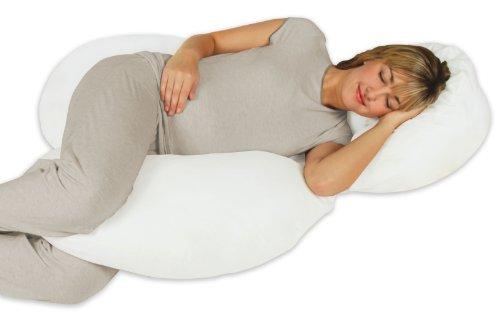 Leachco Body Cloud Flexible Total Body Pillow - White
