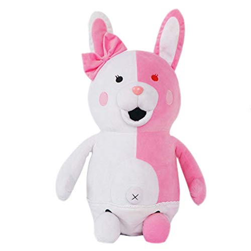 SGOT Danganronpa Monomi Plüschtier Puppe, Kawaii Kaninchen Plüsch, Monokuma Schwarz und Weiß Bär( Style 01)