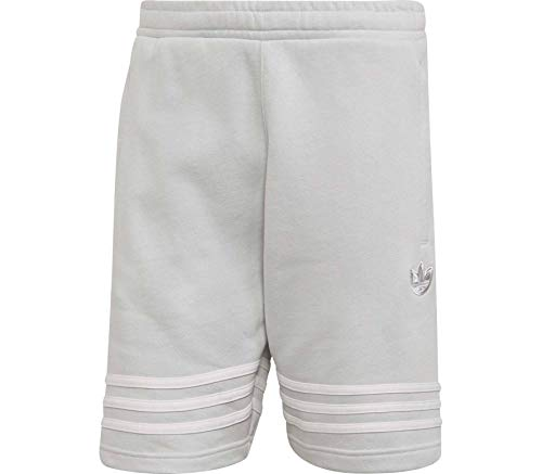 adidas Outline Short Shorts, Hombre, Clear Grey, S
