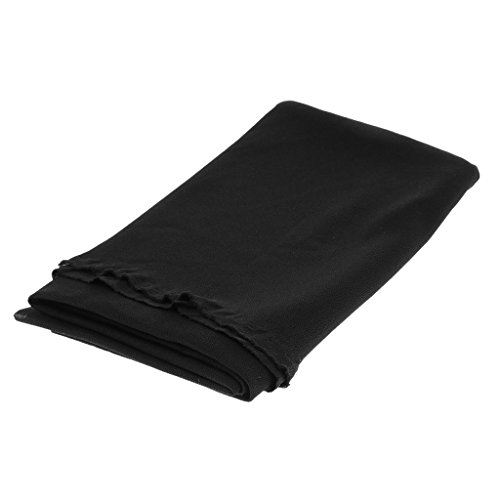 Baoblaze Speaker Grill Cloth Stéréo Gille Tissu Haut-Parleur Radio Mesh Cloth Noir 170x50cm