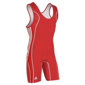 adidas T8Wrestling Singlet–Rojo, Rojo