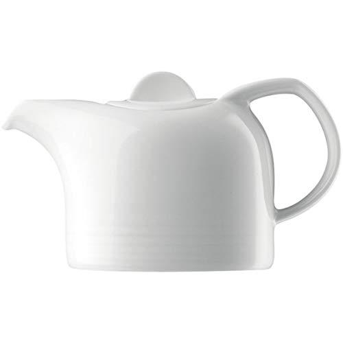 Bauscher 804335 Dialog Dekor Uni Teekanne mit Deckel (6er Pack)