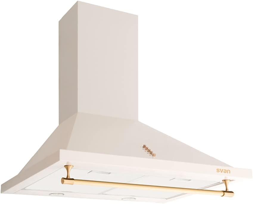 Svan SVCP6652C Campana Piramidal 60cm A Rústica Crema
