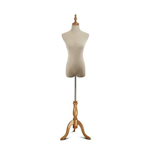 KXBYMX maniqui Mujer Modelos a Medida costurera, y Soporte Altura del trípode Ajustable, Modelos de Moda Muestran maniqui de Costura (Color : M)