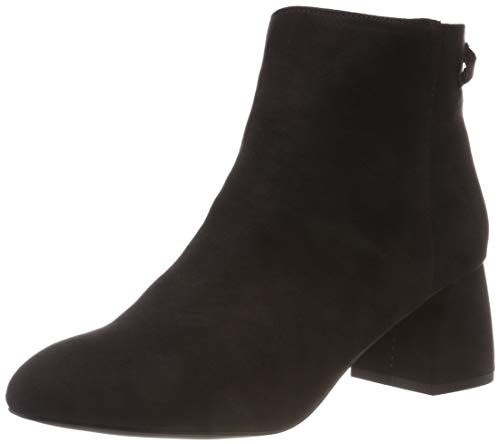 PIECES Damen PSDAJA Boot Stiefeletten, Schwarz Black, 39 EU