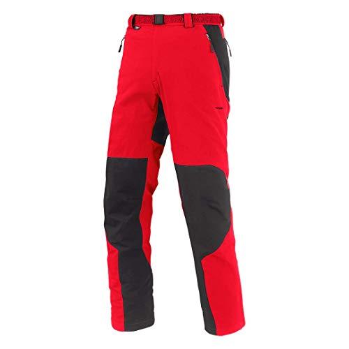 Trangoworld Etnas Pantalons Longs, Homme S Rouge/Noir