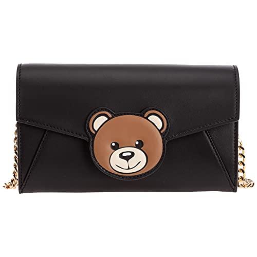 Moschino damen teddy bear Geldbörse nero