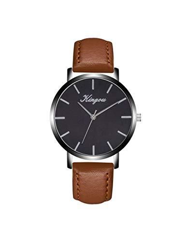 FDIJM Frauen Uhren Männer Mode Lederband Armbanduhren Uhr Für Frauen Kleid Weibliche Uhr, Bw
