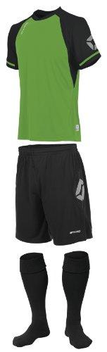 Stanno Trikot » LIGA «, grün/schwarz Short Sleeve Fußball, Shirts, Shorts, Socken