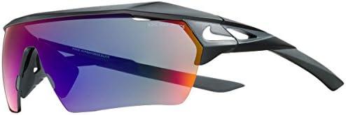 Nike EV1027 016 Hyperforce Elite R Sunglasses Frame Green with ML Infrared Lens Matte Black product image