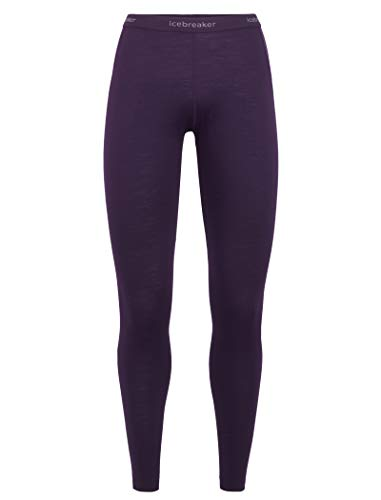 Icebreaker Damen WMNS 175 Everyday Merino Baselayer Leggings Hose, Lotus, S