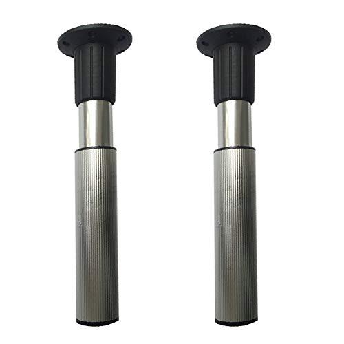Klappbare Möbelfüße Stützfuß Metall Verstellbar Stützbeine Beine für Hebestangen DFGENLY Aluminiumlegierung für Teleskopierbare Unsichtbare Multifunktionale Werkbank Esstischbeine