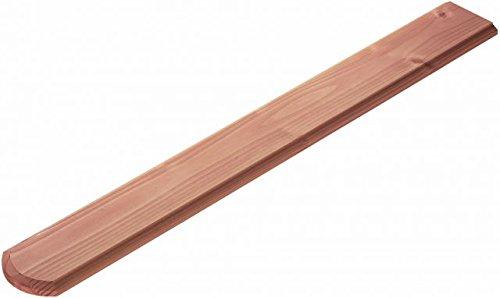 Zaunlatten für Holzzaun/Balkonbrett für Holzbalkon (5 Stück) - Douglasie - 4089/7 DO (18x880x115mm)