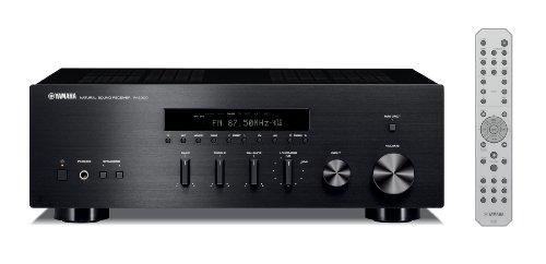 Yamaha R-S300 Stereo Receiver (Apple iPhone/iPod/Bluetooth kompatibel, 2x 55 Watt) schwarz