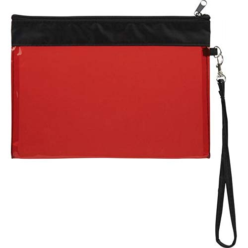 Bullet Sid - Bolsa de viaje transparente (talla única), color rojo