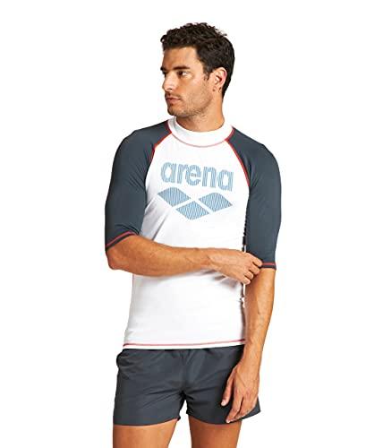 ARENA Camiseta Hombre con protección UV Rash Icons