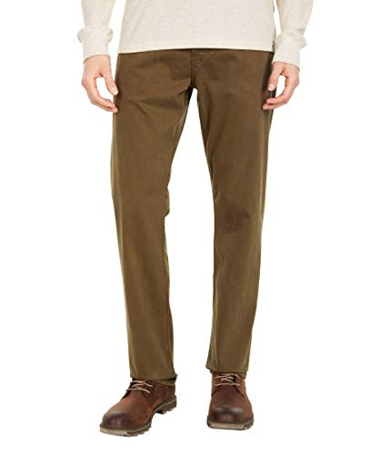 AG Adriano Goldschmied The Graduate Tailored Straight SUD Sueded Stretch Sateen Notting Vine 33 32