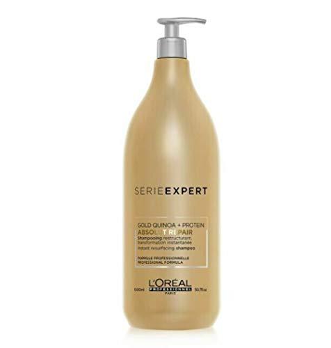 L'Oréal Professionnel Série Expert Absolut Repair Gold Quinoa + Protein Shampoo, 1500 ml
