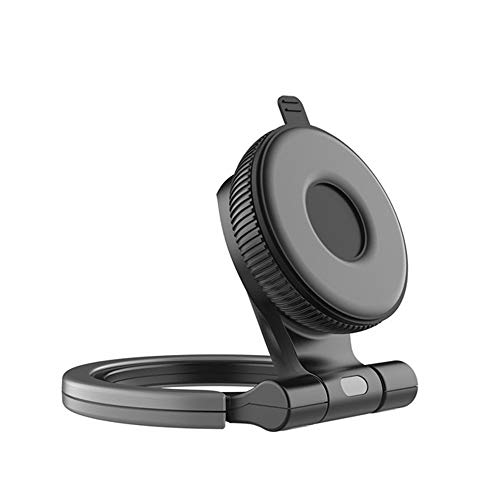 Warme Phone Stand Angle Height Adjustable Phone Dock Smartphone Holder Universal Tablet Stands for Samsung Huawei iPad iPhone iPod Touch (Black Stick)