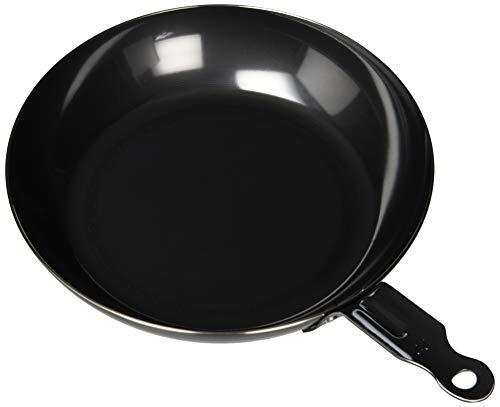 遠藤商事 業務用 鉄黒皮 オーブン用 厚板フライパン 22cm IH対応 鉄 日本製 AHL94022