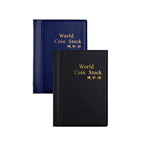 BESTZY 240-coin Collectors Coin Collezione Album Porta Monete Raccoglitore per di Monete Valuta di Libri Album Monete