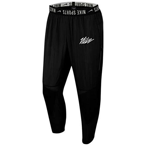 Nike CJ4629-010 Un Pantalon, Black/Black/Lt Smoke Grey/White, L Homme