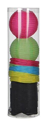 Mica decorations 1003270 lantaarn, meerkleurig
