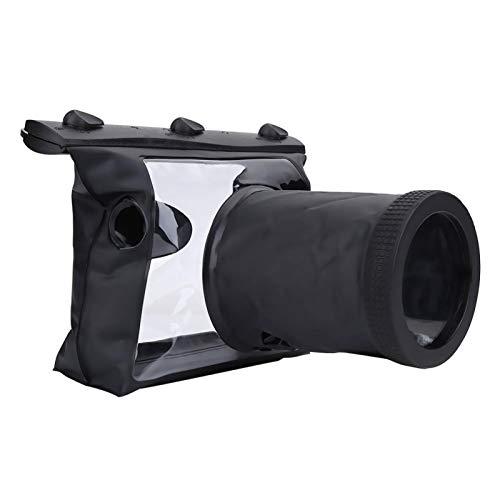 Estuche Impermeable para cámara, Amera Carcasa subacuática Bolsa HD Submarino para bucear a la Deriva para Nadar para Ca-Non SLR Cámara DSLR para Nikon D90