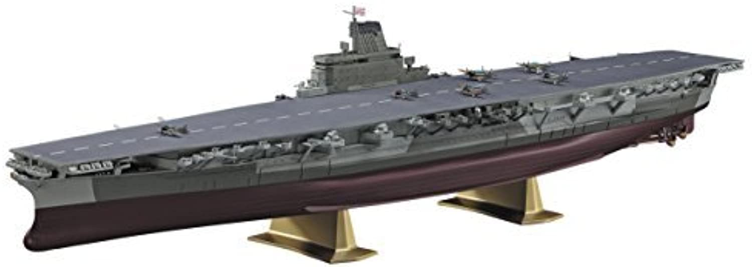 Japan Toy Models - 1 450 Japanese Navy aircraft carrier Shinano AF27 by Hasegawa