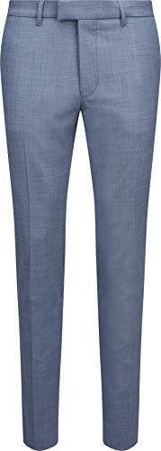 Drykorn Herren Leichte Wollhose in Blau 48 / M